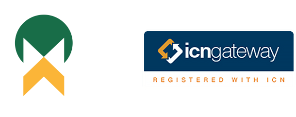 AIDN Member logo and ICN Gateway registration logo